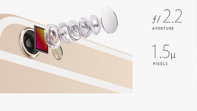 Así son las cámaras del iPhone 6 y iPhone 6 Plus