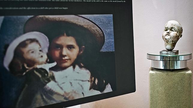 La cabeza de porcelana que pertenecía a Eva Hart, en el nuevo museo de Ayamonte