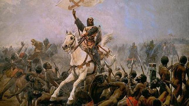 La cadena de esclavos que adorna el escudo de Navarra