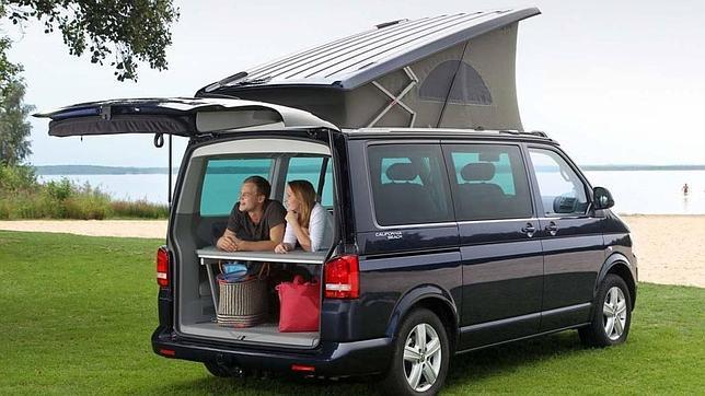 Volkswagen ofrece desde hace décadas autocaravanas cámper.