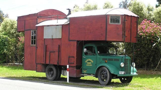 Con la casa a cuestas hasta el último rincón: las autocaravanas aúnan transporte y alojamiento.