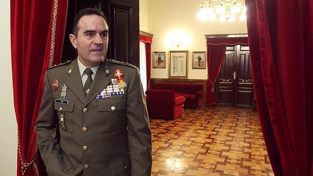 El general Gan, en una imagen tomada en 2011, cuando era director de la Academia General Militar de Zaragoza