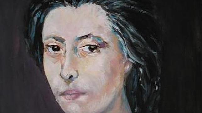 María Castaña, en un retrato realizado por María Presas para el Álbum de Mujeres del Consejo de Cultura Gallega