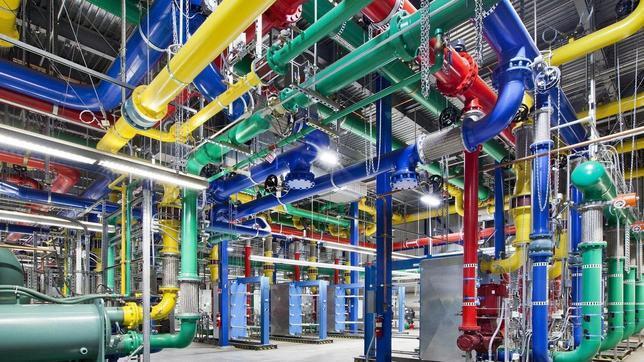 Centro de datos de Google en Oregón