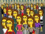 Do�a Letizia, como personaje de �The Simpsons�