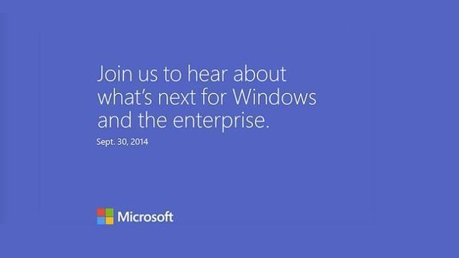 Microsoft confirma un evento de Windows para el 30 de septiembre