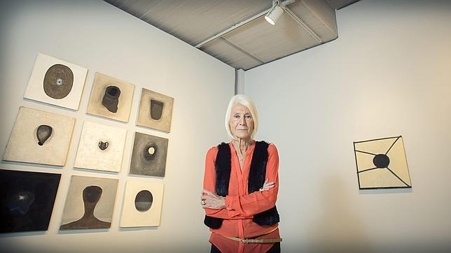 Soledad Lorenzo, en su galería, que cerró en diciembre de 2012