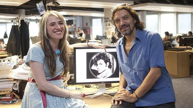 Paloma Concejero y Luismi Baladrón
