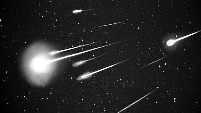 La lluvia de meteoros que alarmó a Escocia