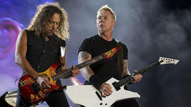 Metallica, en una imagen de archivo durante una reciente actuación