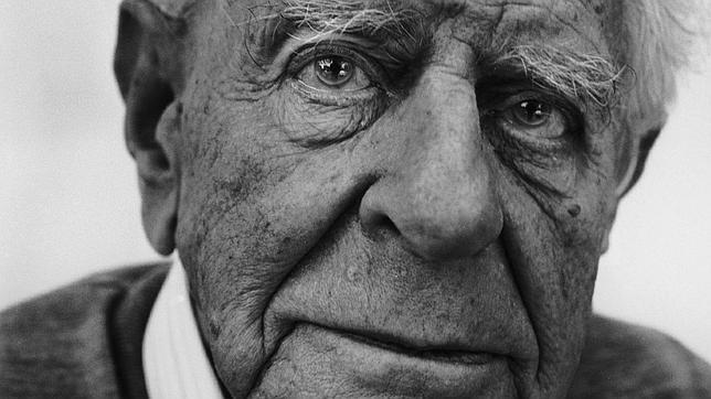 El filósofo austriaco Karl Popper, en 1990