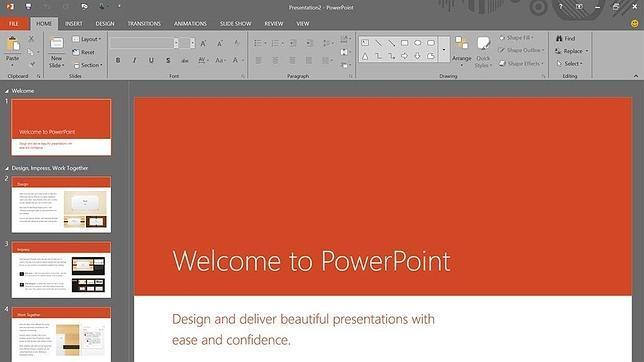 la próxima versión de Microsoft Office