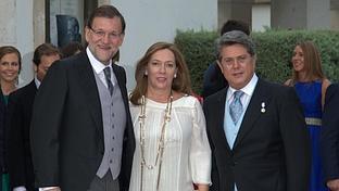 Pleno del PP en la boda del hijo de Federico Trillo