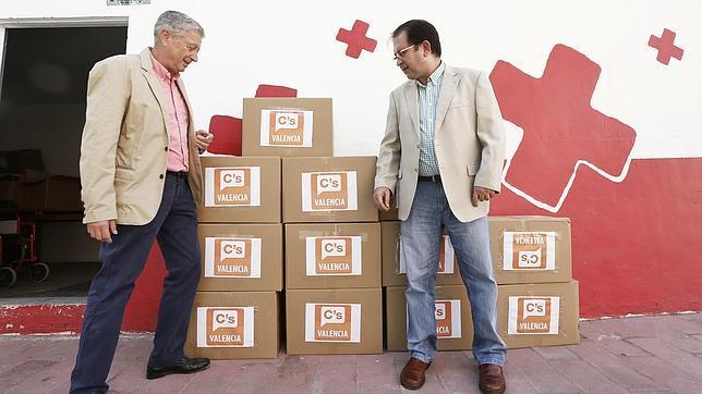 Imagen de Fernando Mut en un acto celebrado con Cruz Roja esta semana