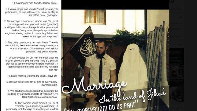 Las «novias» de la yihad en las redes sociales