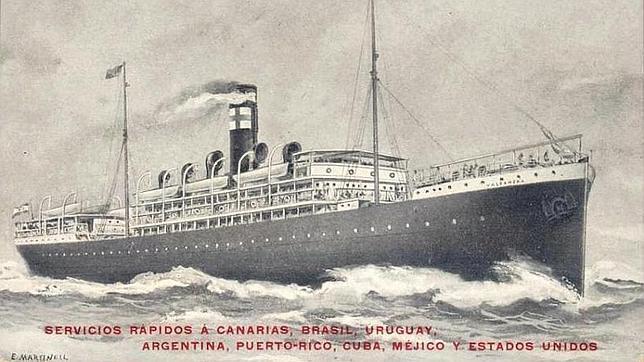 El flamante Valbanera de la naviera Pinillos