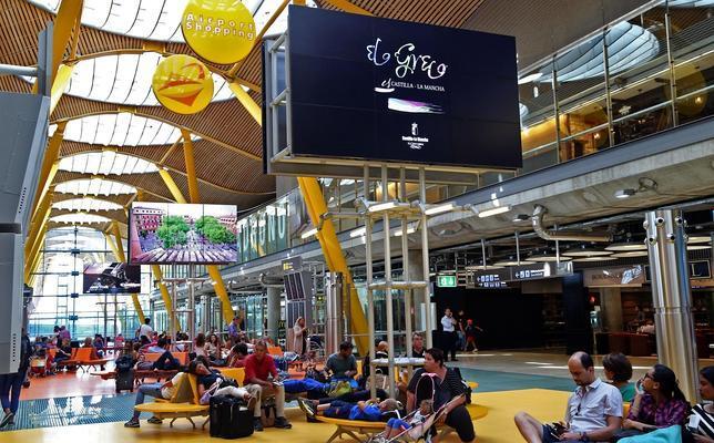 9f94c96162b Actualidad El Greco ya se publicita en el aeropuerto Adolfo Suárez - Madrid  Barajas