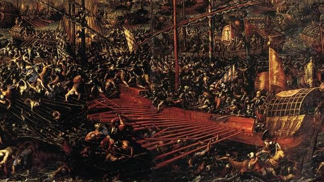 La batalla de Lepanto fue una de las pocas excepciones donde hubo relevancia militar por parte de los catalanes