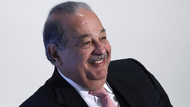 El magnate mexicano, Carlos Slim