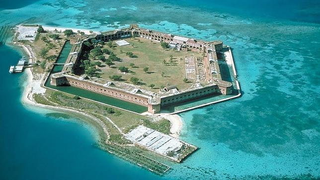 Fort Jefferson, en las Dry Tortugas