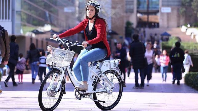 La bicicleta eléctrica que funciona con hidrógeno
