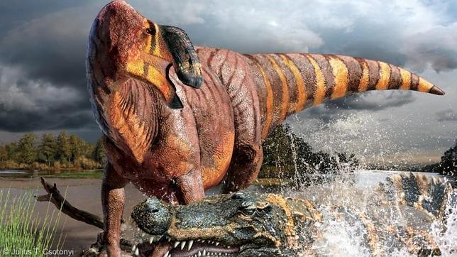 Hallan al dinosaurio «rey de las narices»