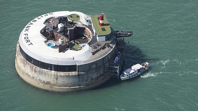Spitbank Fort, un hotel peculiar en la costa inglesa