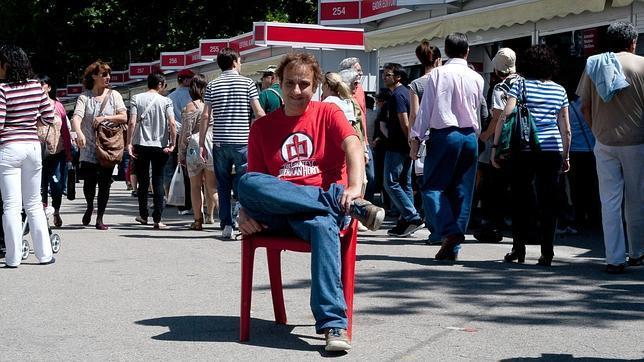 Albert Espinosa, en la Feria del Libro