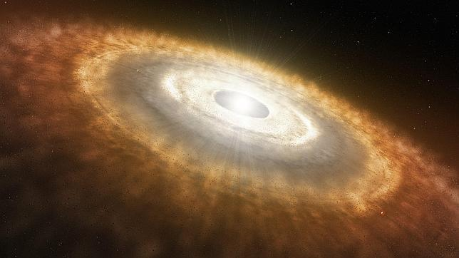 Nuevo sistema planetario en formaci�n