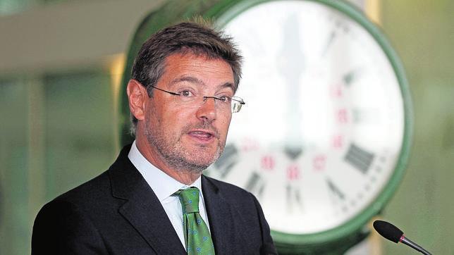 El nuevo ministro de Justicia, Rafael Catalá