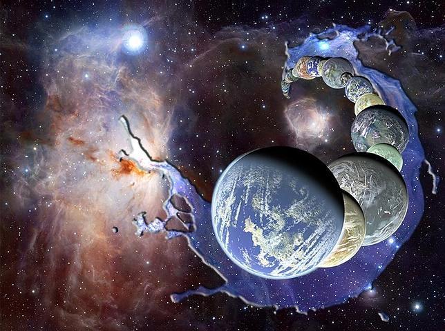El agua de los planetas fue heredada de la nube molecular primordial