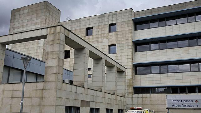 Imagen de la fachada de urgencias del hospital San Juan de Dios de Martorell, en Barcelona