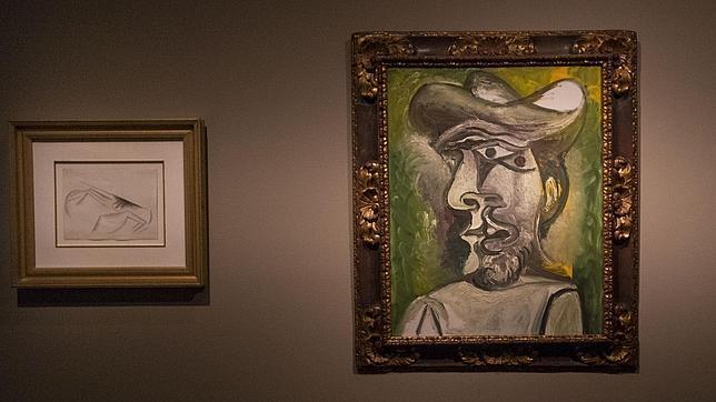 Dos obras de Picasso (Un lienzo y un dibujo)