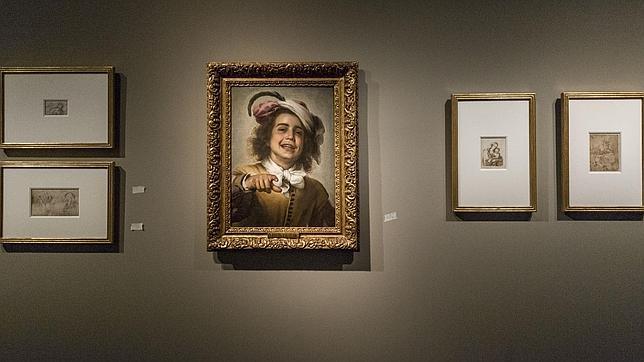 «El joven gallero», de Murillo, junto a dibujos del artista