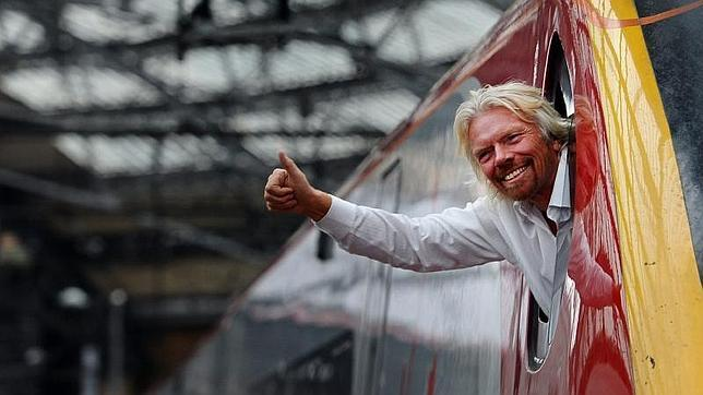 Richard Branson, fundador del Grupo Virgin