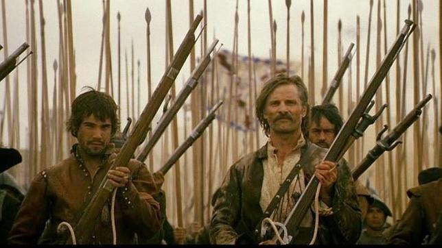 Captura de la película de «Alatriste»