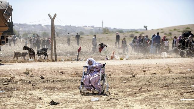 «Los yihadistas decapitan a los ancianos que no pueden huir»