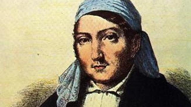 El famoso bandolero Luis Candelas en un retrato de la época