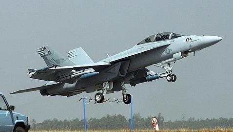 Los aviones de combate con los que la coalición golpea al Estado Islámico