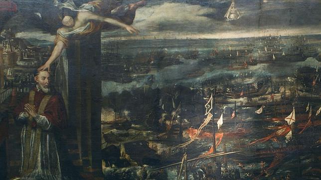 Visión del Papa Pío V de la victoria de Lepanto