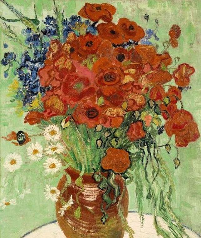 Un raro bodegón de Van Gogh podría alcanzar los 50 millones de dólares en una subasta
