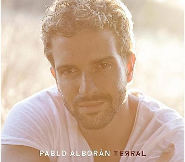 Portada del último disco de Pablo Alborán, Terral