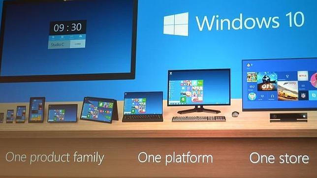 Microsoft presenta el nuevo Windows 10
