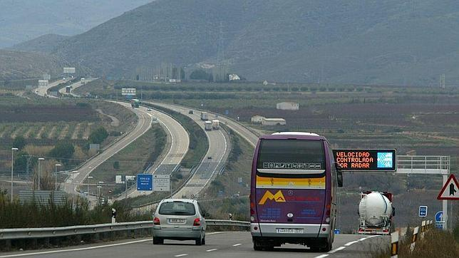 El trazado se concibió para unir la A-2 Madrid-Zaragoza (en la imagen) con la autovía que conecta Zaragoza con Valencia a través de Teruel