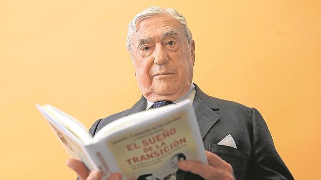 Manuel F.-Monzón, durante la entrevista
