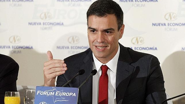 Pedro Sánchez, en Fórum Europa