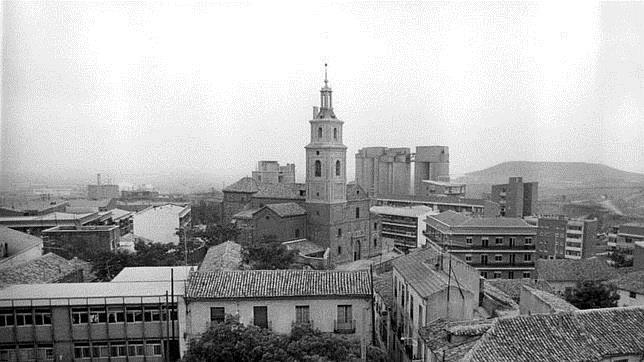 La plaza del antiguo pueblo de Vicálvaro