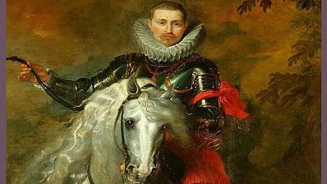 El retrato equino es obra de Rubens, en la actualidad está expuesto en el Castillo de Windsor