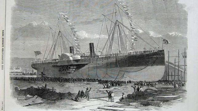 El insólito naufragio del «Titanic del siglo XIX»