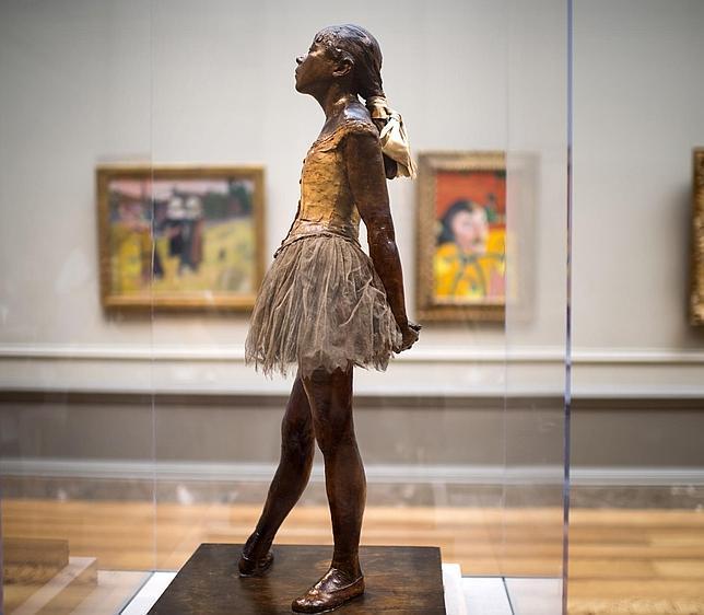 «La pequeña bailarina de 14 años», de Degas